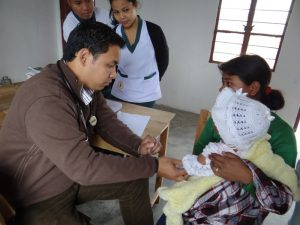 Free Medical Camp organized by the Department of Allied Health Sciences