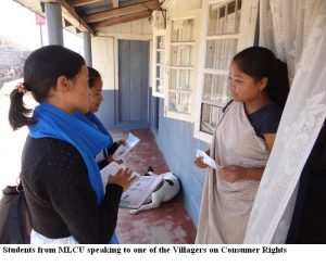 Mass Awareness Campaign on Consumer Rights in Pynursla