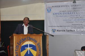 Open Debate Competition organised by POSOCO in collaboration with MLCU
