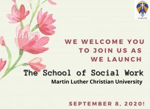 Launch of School of Social Work