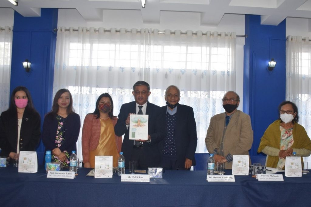 Book release of Gender, Sexuality and Society in Northeast India by the Chief Secretary Gom, Shri MS Roa.