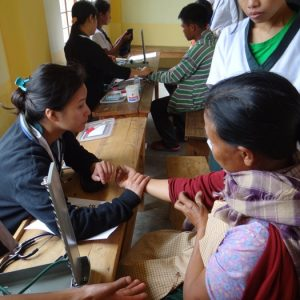 Free Medical Camp organized by the Department of Allied Health Sciences 4